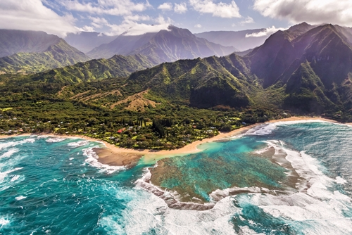 "The island of Kauai was where many scenes from ""Jurassic Park"" were shot."