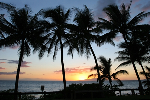 There's no wrong season to watch a Maui sunset.