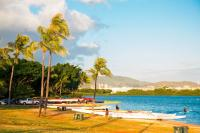 Honolulu beach: Keehi Lagoon Beach Park