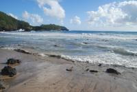 Hana beach: Koki Beach