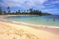 Poipu beach: Poipu Beach Park and Brennecke's Beach