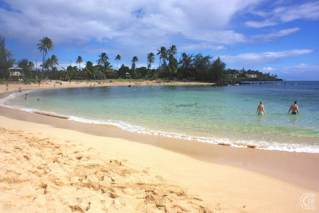 Poipu Beach Park And Brennecke S
