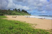 Kapaa beach: Kealia Beach