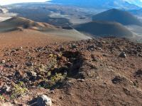 Kula hike: Sliding Sands (Keonehe'ehe'e Trail) in Haleakala National Park