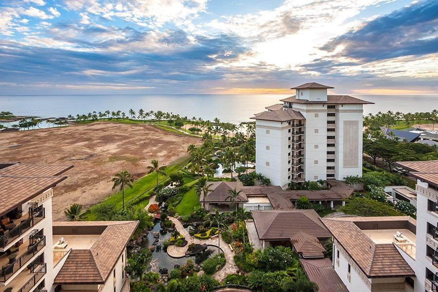 Ko Olina Beach Villa 14th Floor Full Ocean Views Front
