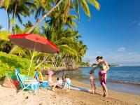 Lahaina vacation rental: Lahaina Beach House - 6BR steps to Baby Beach and Lahaina town