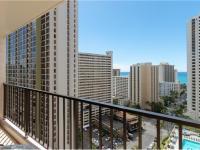 Waikiki condo rental: Waikiki Banyan Tower 2 - 1BR Condo Ocean View #2012