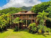 Haena vacation rental: Tropical Bamboo Hideaway - 2BR Home