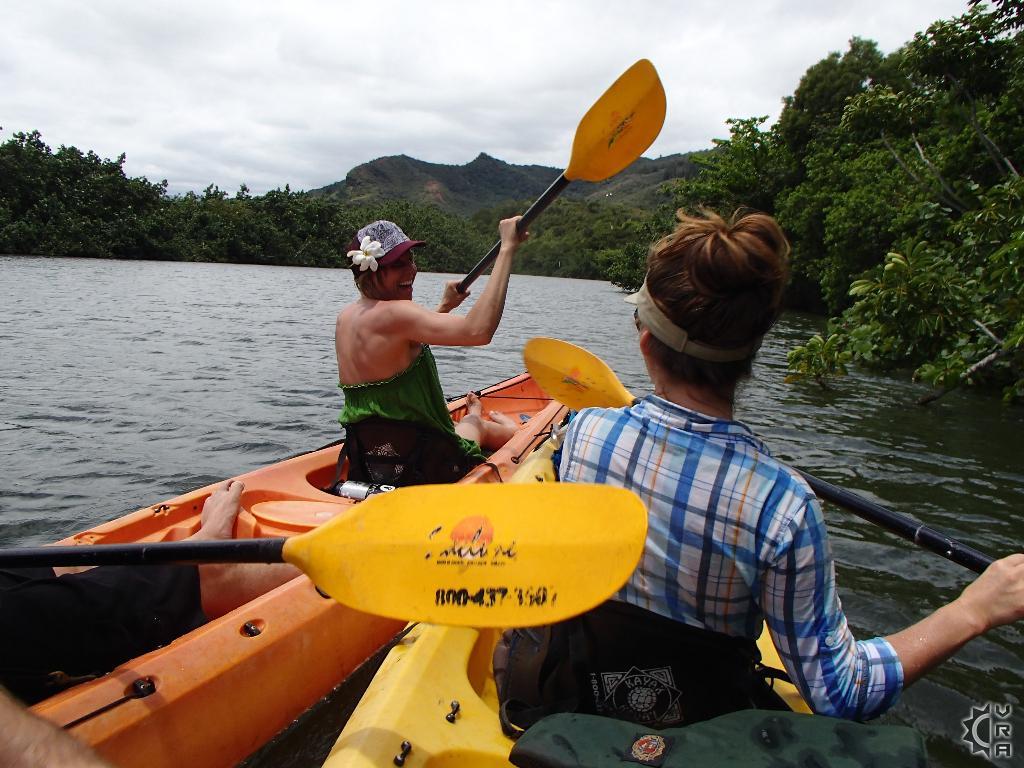 Wailua River Kayak to Uluwehi Falls in Wailua, Kauai, Hawaii
