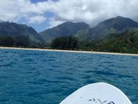 Hanalei thingtodo: Explore Stand Up Paddling at Hanalei Bay