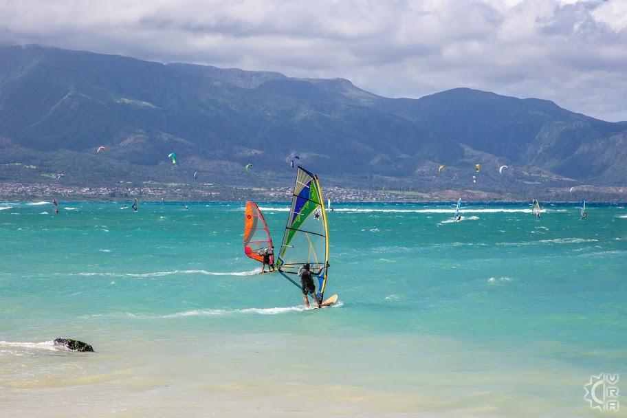Kanaha Beach In Kahului Maui Hawaii